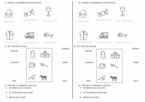 Actividades para niños de primer grado de matematica - Imagui