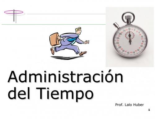 LA ADMINISTRACION DEL TIEMPO PDF DOWNLOAD