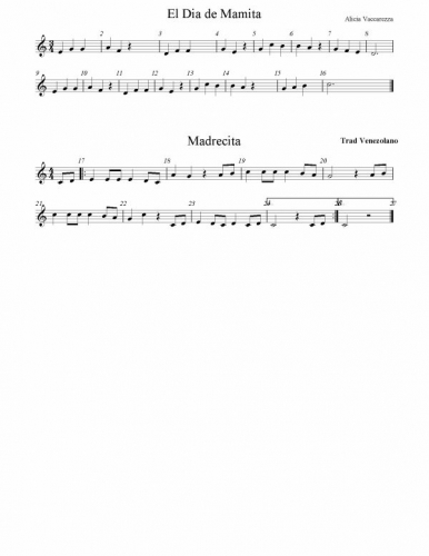 partituras para flauta. Partitura para Flauta