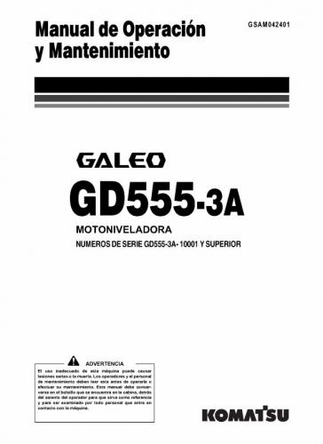 resumen del 555 auto electrical wiring diagramdocumento manual operaci u00f3n y mantenimiento gd555 komatsu