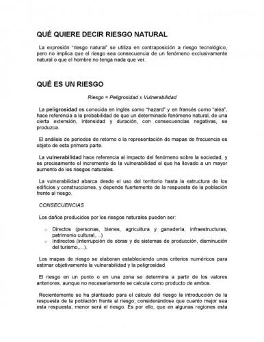 Documento qu quiere decir riesgo natural grupos for Que quiere decir clausula suelo