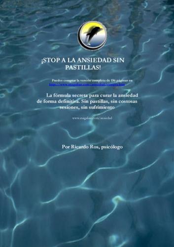 Stop a la ansiedad sin pastillas - Ricardo Ros [MP3+PDF | Español | 28.77 MB]