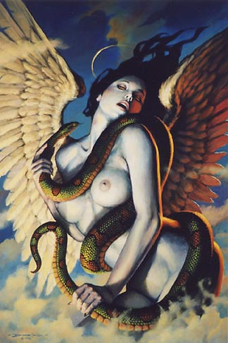 ¿Conoces la leyenda de la diosa Eurinomo?