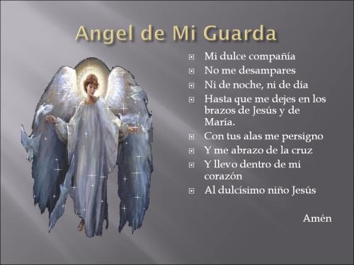 Oracion Al Angelito De La Guarda Imagui