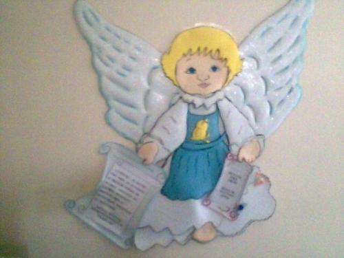 Moldes de angelitos en fomi - Imagui