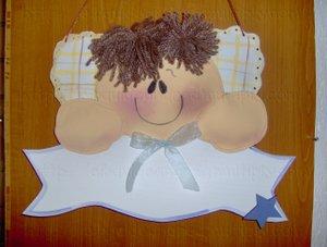 Angelito,mu�eco de foamy