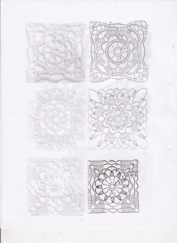 Aplicaciones de crochet trico y crochet madona m 237 a - Aplicaciones en crochet ...