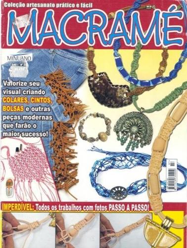 BAJALA YA Y GRATIS REVISTA DE MACRAME