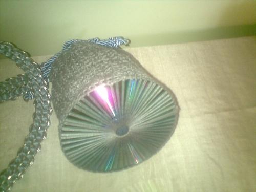 Imagen bolso a crochet con cd - grupos.emagister.com