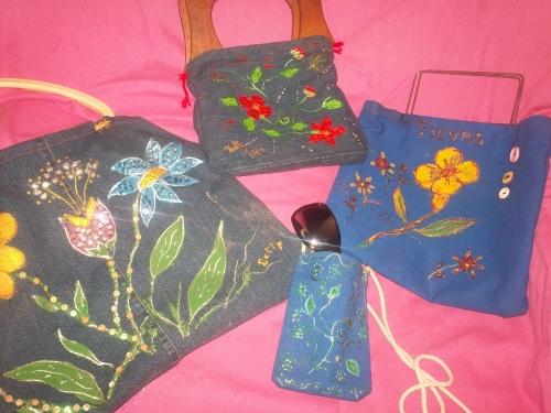 Bolsos de Jeans reciclados II