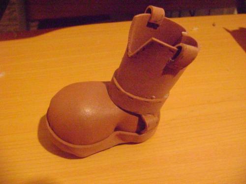 Bota de woody en foami - Imagui
