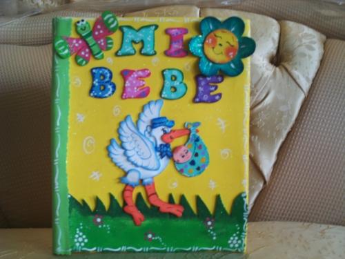 Carpetas en foami para bebés - Imagui