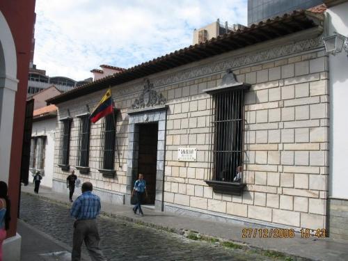 Casa Natal del Libertador Sim�n Bol�var Caracas
