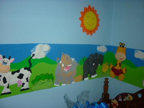 Imagen cinta decoraci n cuarto de bebe - Dibujos para decorar habitacion de bebe ...