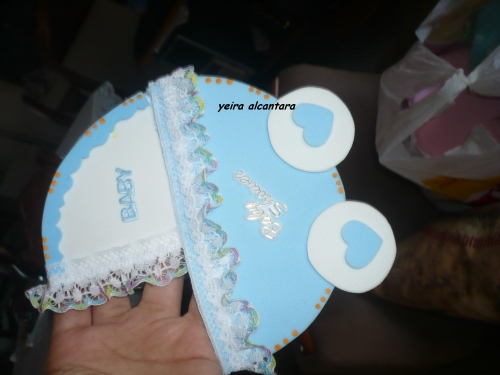 Carreola De Fomi Para Baby Shower