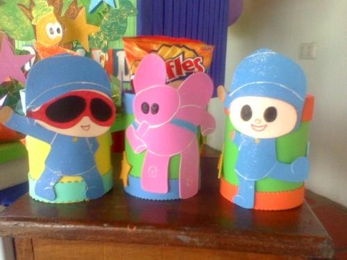 Cotillones con latas de leche - Imagui