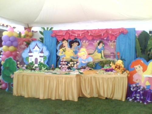 Imagen decoracion de mesa cumpleaños princesas - grupos.emagister ...