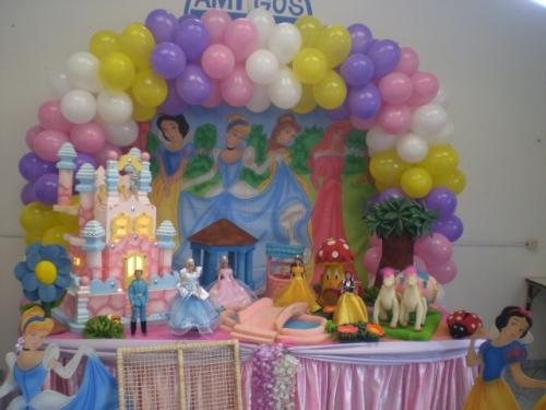 Imagen decoracion de princesas for Decoracion de princesas