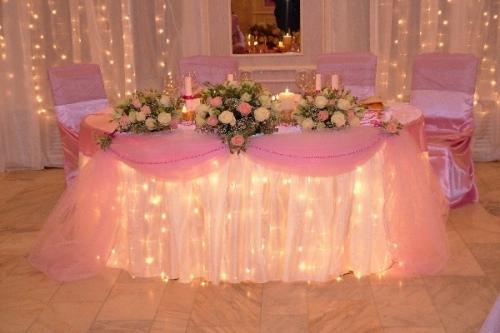 Imagen decoracion fiesta de bodas - Luces para salon ...