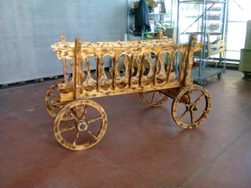 Imagen decoracion rustica de madera y hierro forjado - Decoracion en madera rustica ...