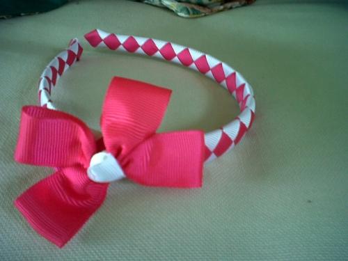 Como hacer diademas en cintas imagui - Material para hacer diademas ...