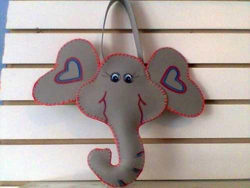 Como hacer una mascara de elefante con foami - Imagui