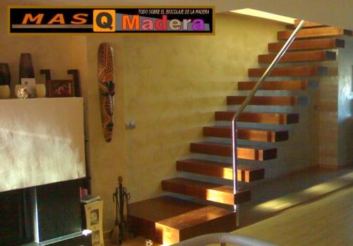 Imagen escalera volada - Foros de carpinteria ...