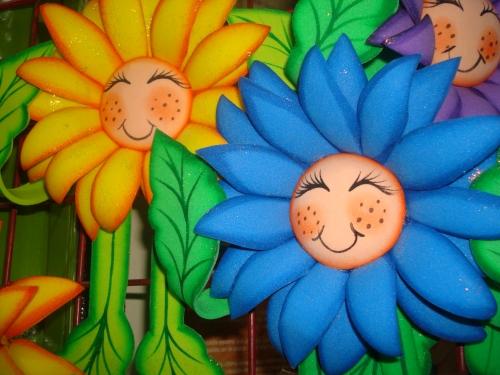 Imagen girasoles animados - grupos.