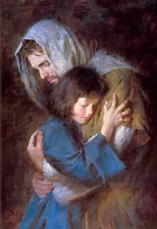 Jesus y Ni�a