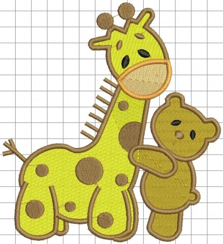 Imagenes de jirafas tiernas animadas - Imagui