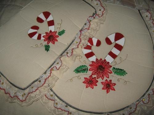 Baño Navideno Navidad:Juegos de baño de liston de navidad – Imagui