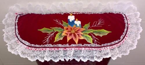 Juegos De Baño De Navideno Paso A Paso:Juegos de baño navideños en tela – Imagui