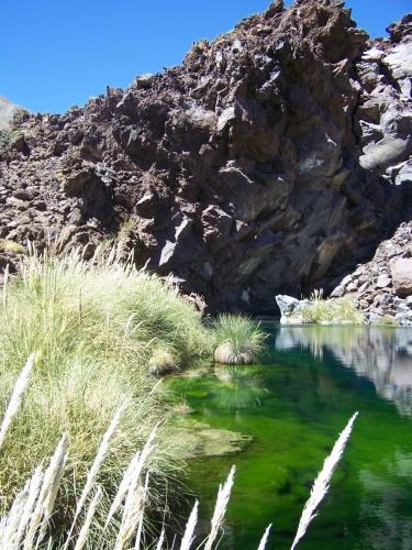 Laguna de la ni�a encantada, MALARG�E MENDOZA
