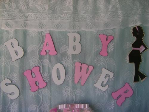 Imagen letras baby shower niña - grupos.emagister.com