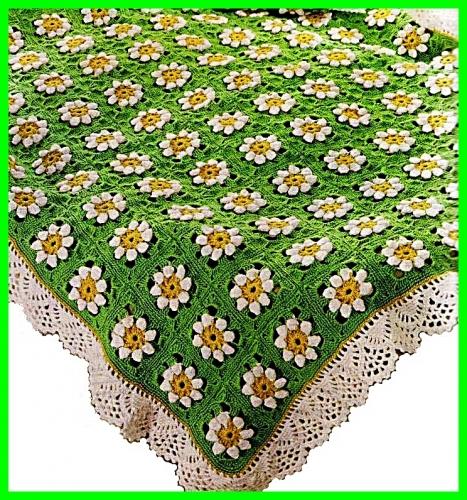 Mis creaciones 25: Colchas Tejidas a Crochet (Apeticion)