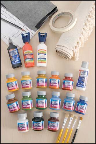 Imagen los materiales para pintar - Materiales para pintar ...