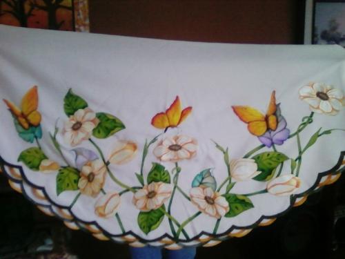 Moldes para pintar manteles tela - Imagui