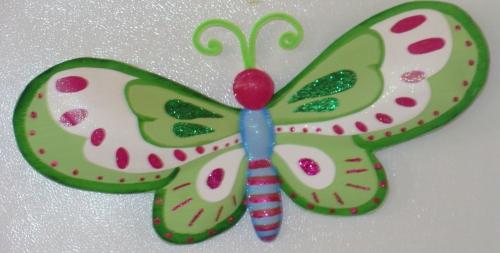Mariposa en microporoso - Imagui