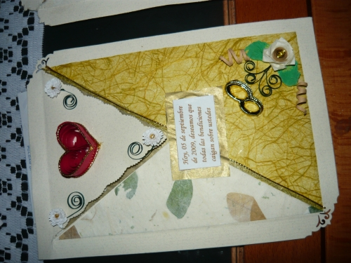 Imagen Mas Tarjetas en filigrana para bodas - grupos.
