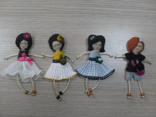 Imagen MUÑEQUITAS DE FIELTRO - grupos.emagister.com