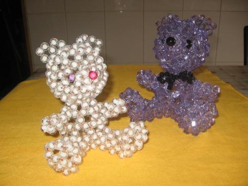 Osos en perlas