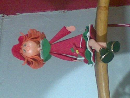 Moldes muñecas en foami - Imagui