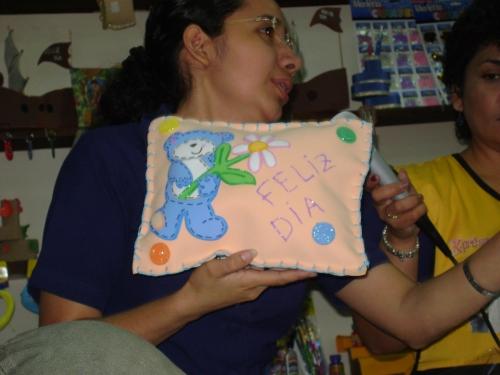 Imagen otro cojín en foami - grupos.emagister.com