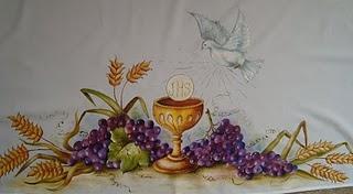 para pintar mantel de iglesia 3