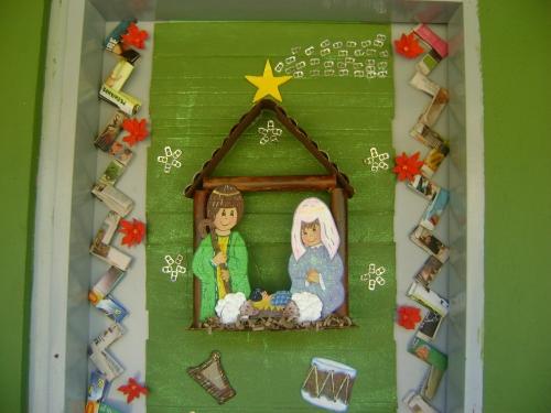 Modelos adornos con material de provecho decoracion de - Adornos de navidad con material de desecho ...