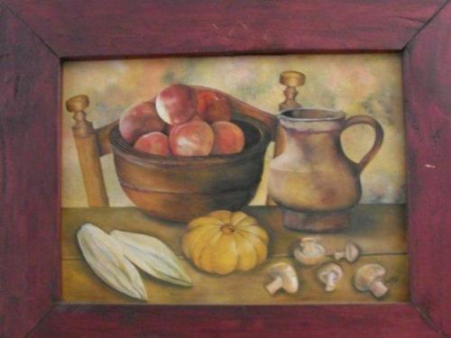 Pintar pinceladas - Pintura para pintar madera ...