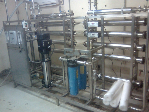 Imagen planta de osmosis inversa para purificacion de agua for Plantas de purificacion