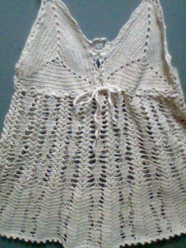 Poleras A Crochet Con Patrones   Imagui