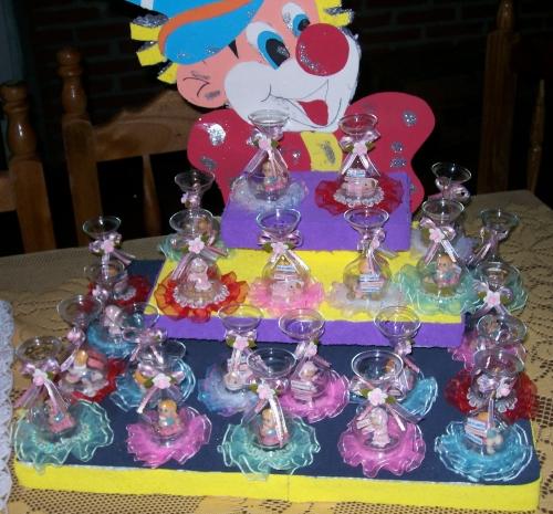 Cumpleaños de payasos en goma eva - Imagui