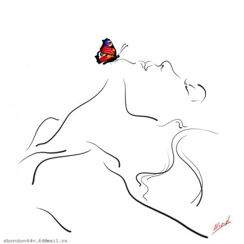 Imágenes de siluetas de mujeres para colorear - Imagui